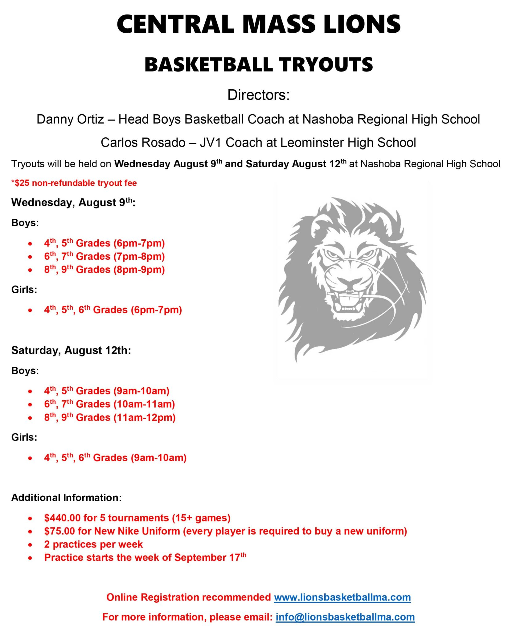 Central-Mass-Lions-Tryout-2017